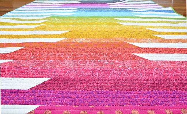 Initial K Studio Sun Prints Quilt