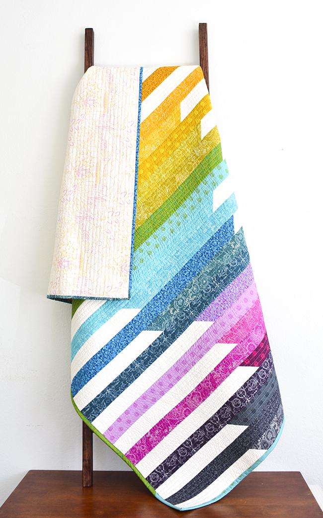 Initial K Studio Sun Print Cascade Quilt