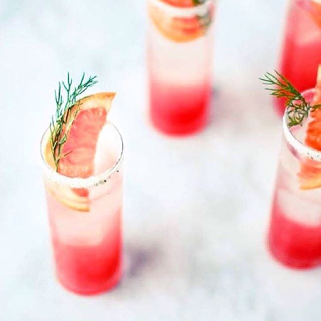weekend cocktail garnish game strong thanks to @thefeedfeed #tequilacleanse #cleanbodydirtymartini