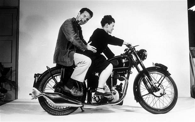 Another husband and wife team that inspires us.  Charles and Rae Eames .