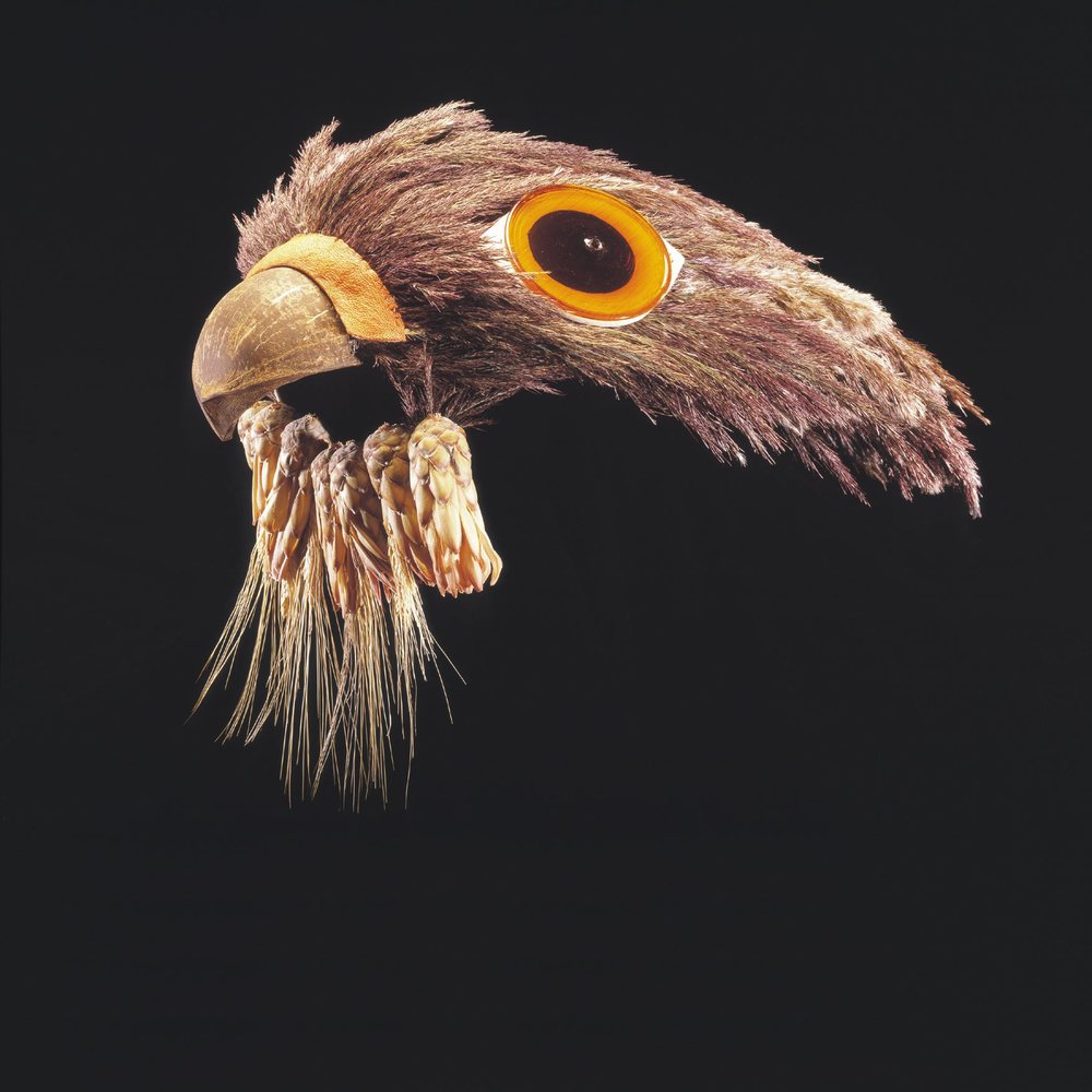 Peregrine Falcon mask we made for a  World Wildlife Fund  auction.