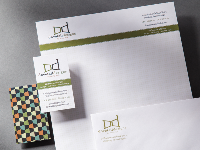 Dovetail Designs | Stationery Design
