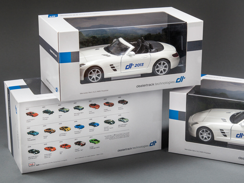 Dealertrack Technologies | 2013 Branded Promotional Packaging Design