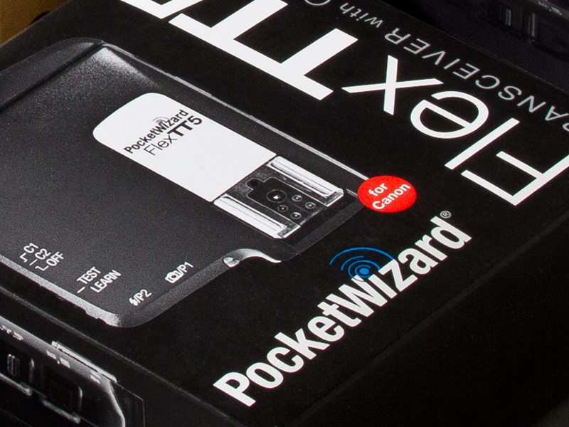 PocketWizard | FlexTT5 Packaging Design Detail