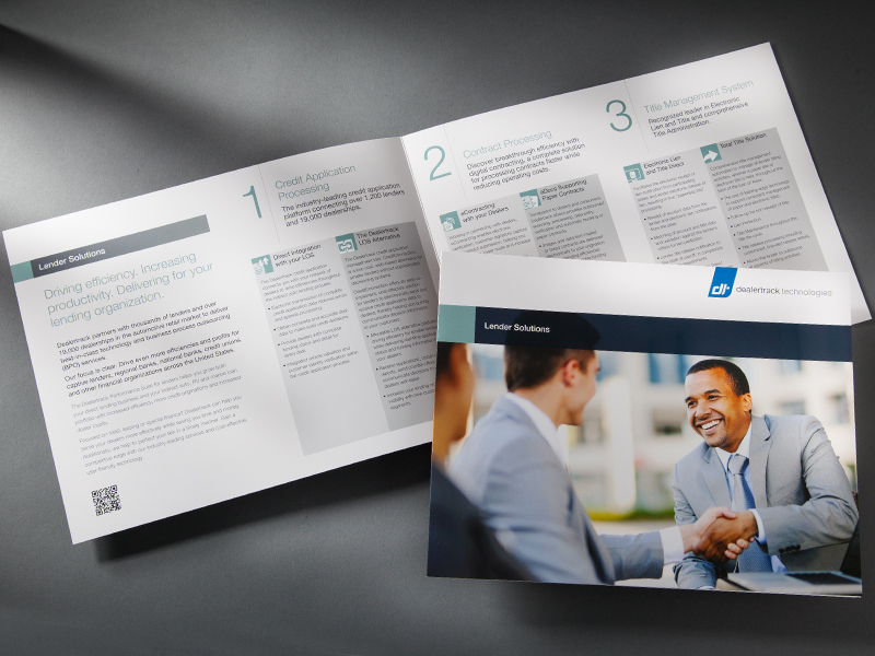 Dealertrack Technologies | Lenders Brochure Design