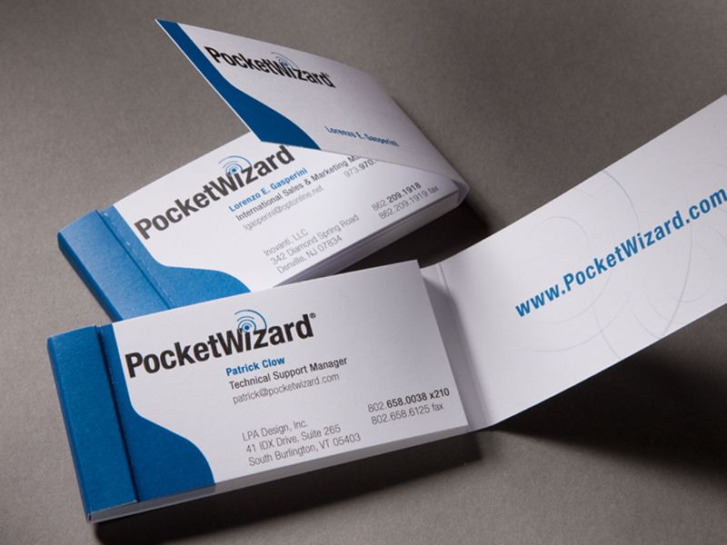 PocketWizard | Business Card Design