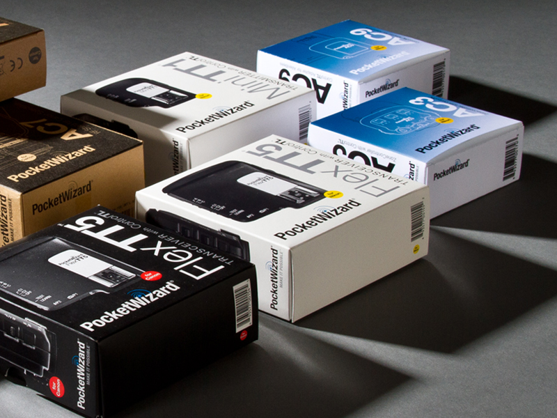PocketWizard | Canon & Nikon Retail Packaging