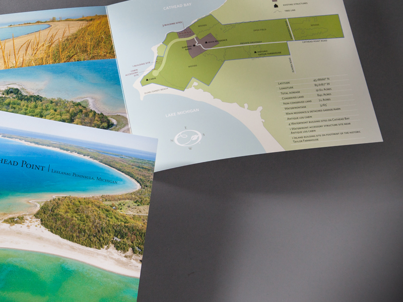 Earth Asset Partnership | Cathead Point Brochure Design