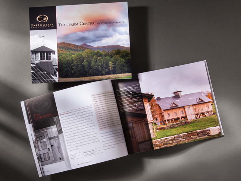 Earth Asset Partnership | Teal Farm Center Book