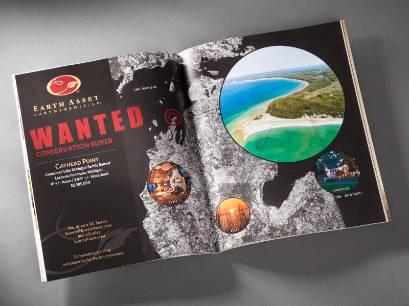 Earth Asset Partnership | Advertisement Design