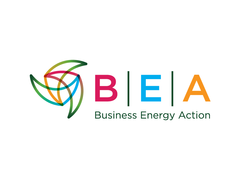 VBSR | Business Energy Action Logo Design