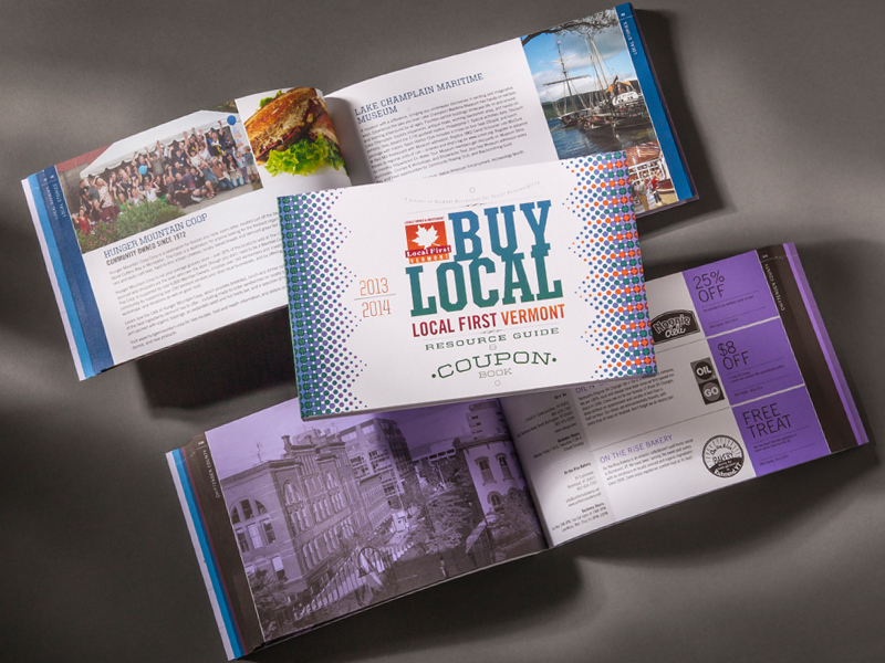 VBSR | 2013-2014 Buy Local Coupon Book Design