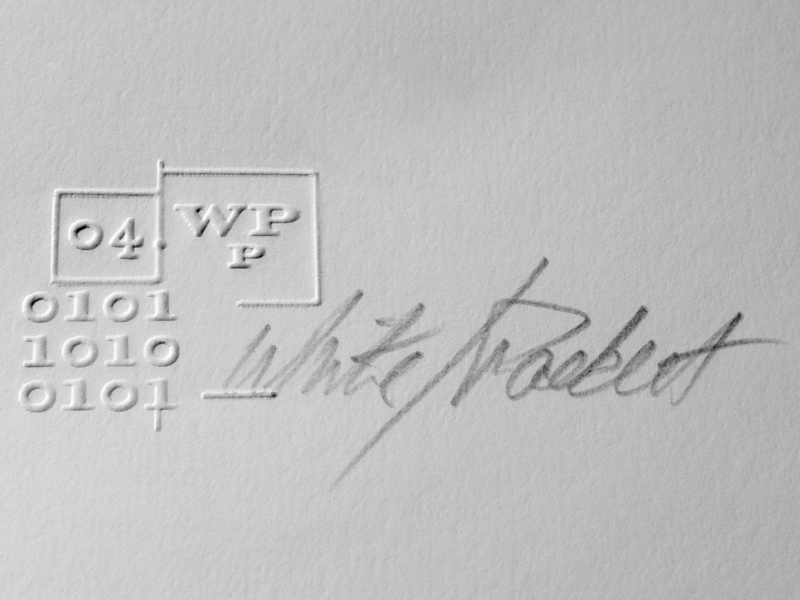 White Packert Photography | Embossing Mark for Posters