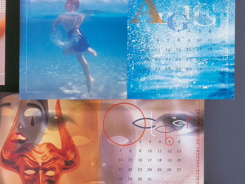 White Packert Photography | 2001 Calendar Promotional Mailers