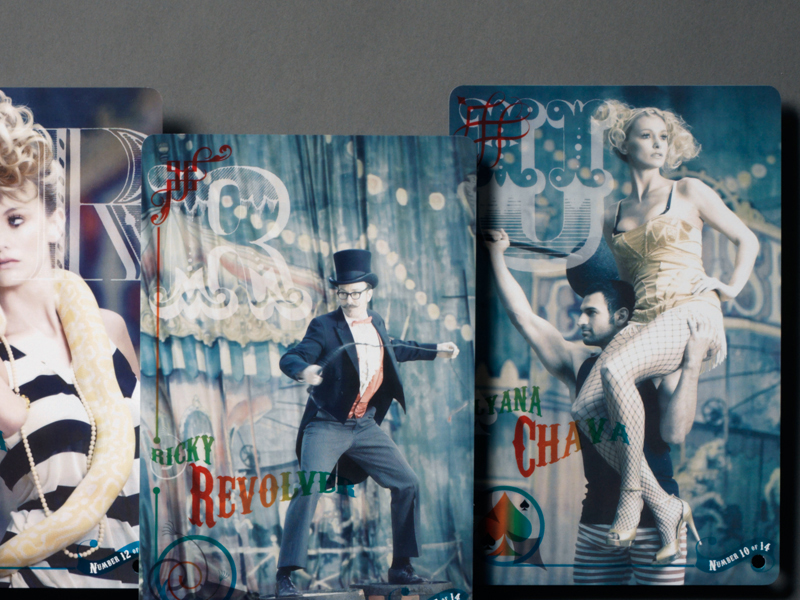 Packert Photography | Cirque du Quirk Postcards