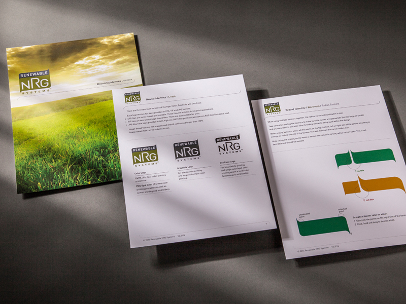 Renewable NRG Systems | Brand Guidelines Design