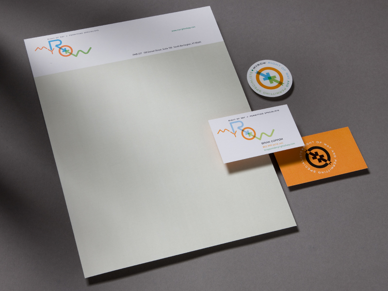 MyROW International | Stationery Design