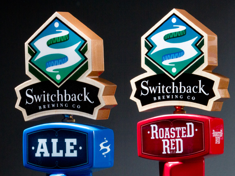 Switchback Brewing Co. | 2011 Series Tap Handles
