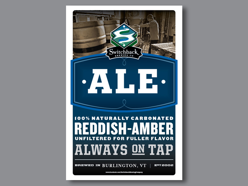Switchback Brewing Co. | Switchback Ale Poster Design