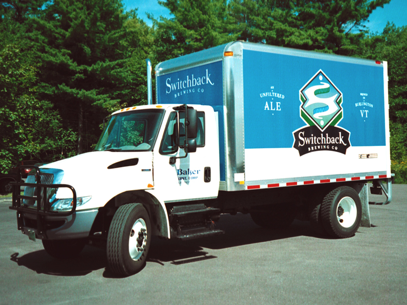 Switchback Brewing Co. | Small Box Truck Design