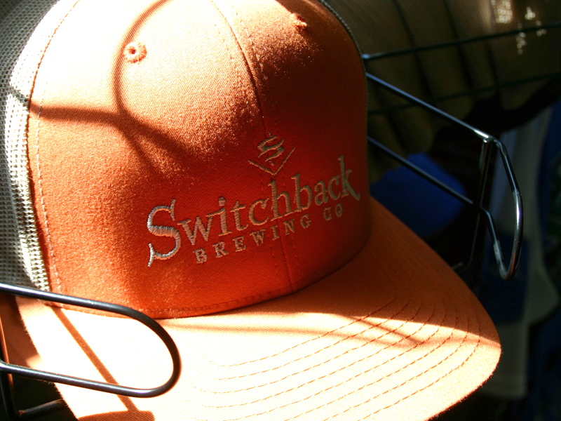 Switchback Brewing Co. | Embroidered Trucker Hat Design