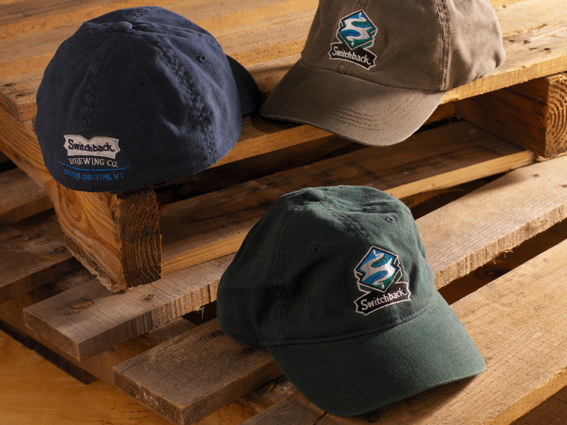 Switchback Brewing Co. | Embroidered Logo Hat Designs