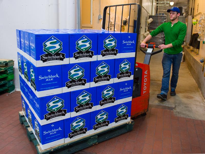Switchback Brewing Co. | Switchback Ale Case Box Palette