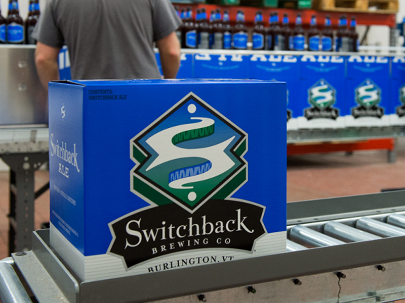 Switchback Brewing Co. | Switchback Ale Case Box Design