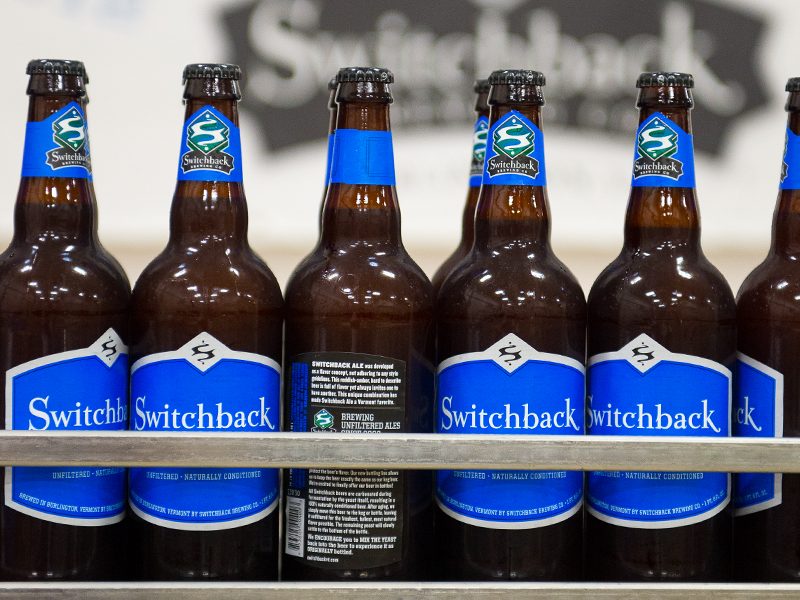 Switchback Brewing Co. | Switchback Ale Bottling Line