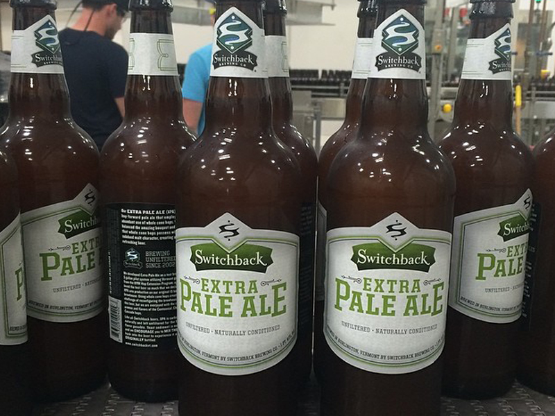 Switchback Brewing Co. | Extra Pale Ale Bottling Line