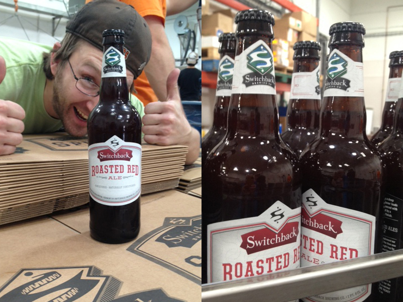 Switchback Brewing Co. | Roasted Red Ale Bottling Line