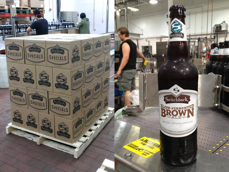 Switchback Brewing Co. | Specials Case Boxes & Slow-Fermented Brown Ale
