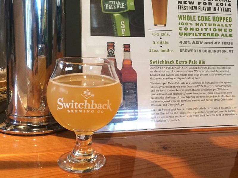 Switchback Brewing Co. | Switchback Sample Glass