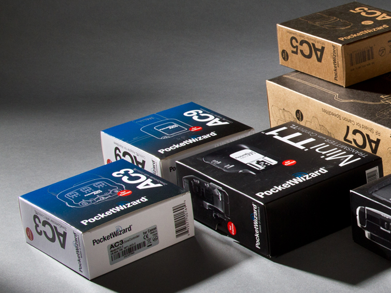PocketWizard | Canon & Nikon Retail Packaging Design