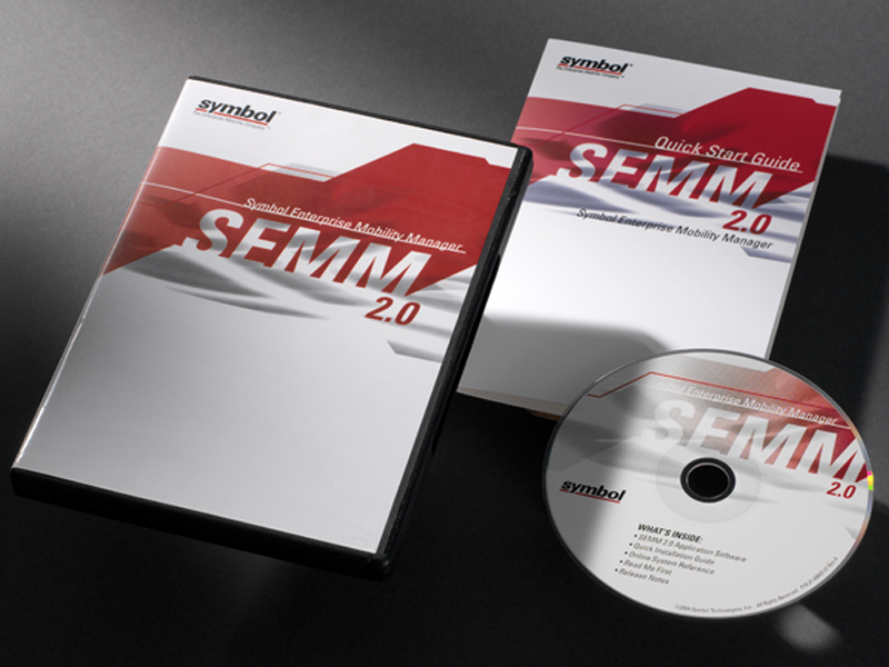 Symbol Technologies | SEMM Software Packaging Design