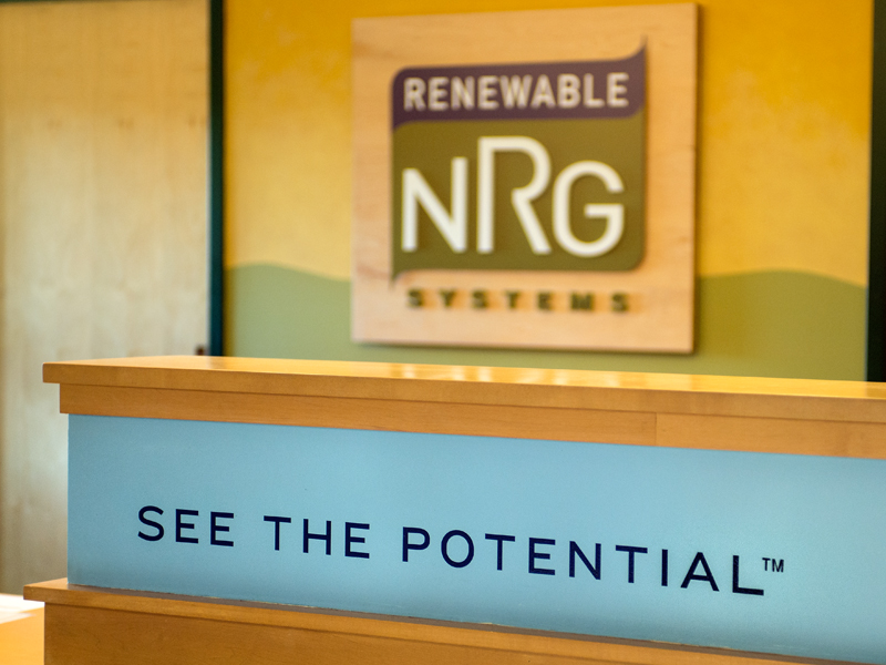 Renewable NRG Systems | Interior Signage Design
