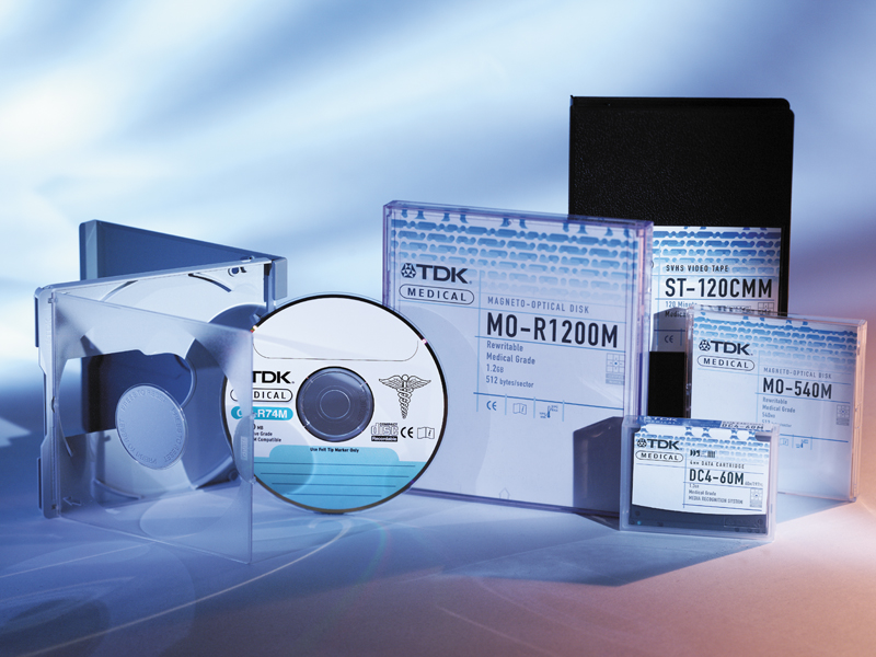 TDK Electronics Corp. | TDK Medical Media Packaging Design