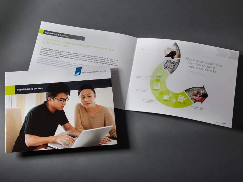 Dealertrack Technologies | Digital Retailing Solutions Brochure Design