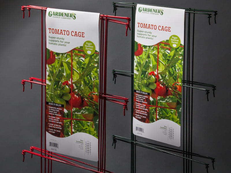 Gardener's Supply Company | Tomato Cage Retail Packaging Design