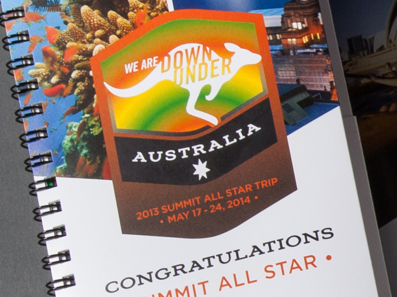 Madison Performance Group | 2014 Australia Summit All Star Logo Design