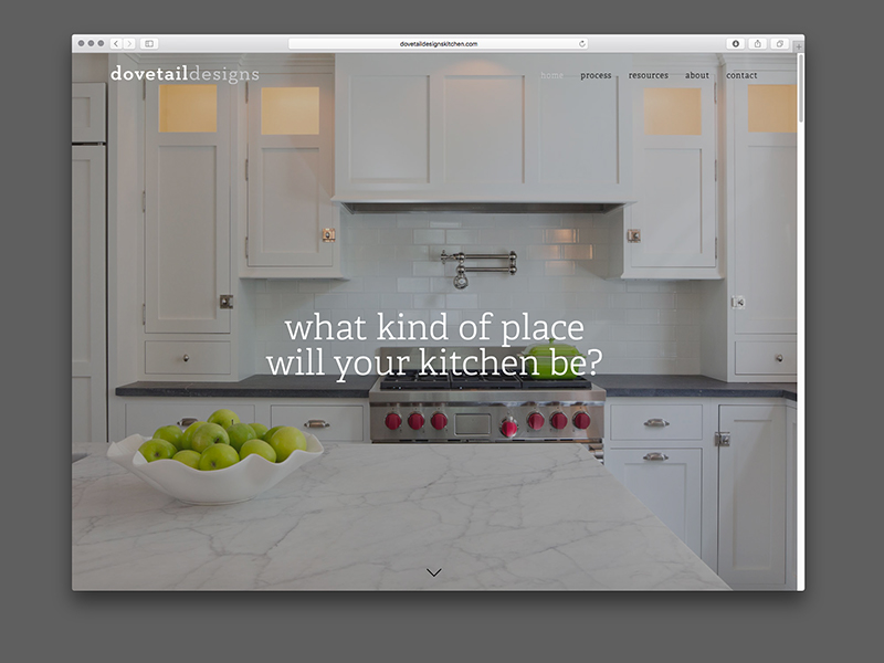 Dovetail Designs Website Design | view site