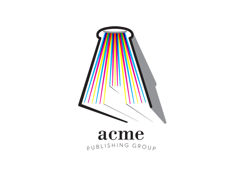 Start-up Company Logo Design for Acme Publishing Group by Interrobang Design