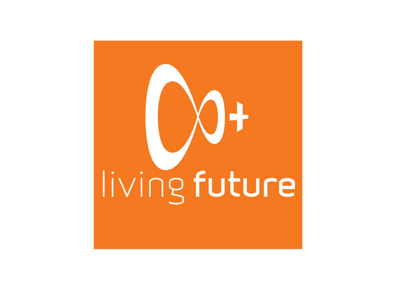 Nonprofit Logo Design for Living Future by Interrobang Design