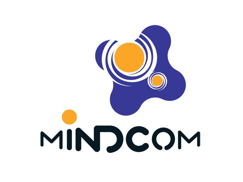 Logo Design for Mindcom, Boston MA, by Interrobang Design