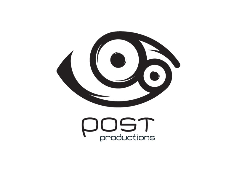 Logo Design for Post Productions, Burlington Vermont, by Interrobang Design