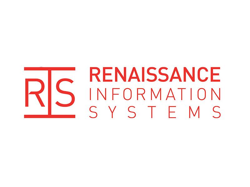 Logo Design for Renaissance Information Systems by Interrobang Design