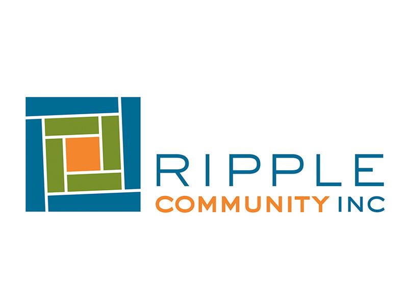 Nonprofit Logo Design for Ripple Community Inc, Allentown PA, by Interrobang Design
