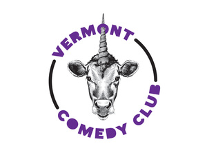 Logo Design for Vermont Comedy Club, Burlington Vermont, by Interrobang Design