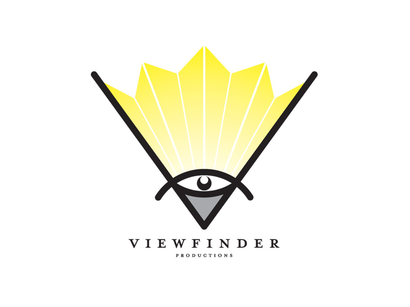Logo Design for Viewfinder Productions, Boston MA, by Interrobang Design