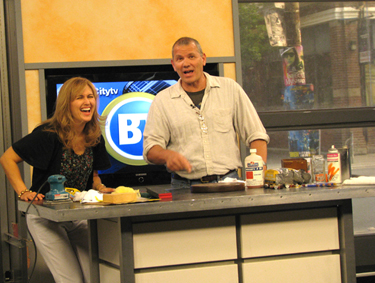 Merveilleux 2009, Breakfast Television, Toronto, Guest: Joe Lu0027Erario, PBS